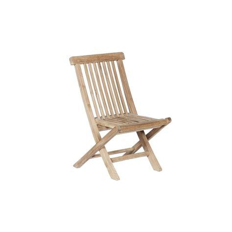 chaise en teck chaise de jardin enfant en teck pako teckandco