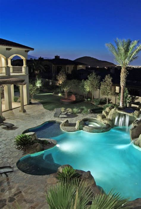 amazing backyard pools i love the graded large steps sitting in the shallows is