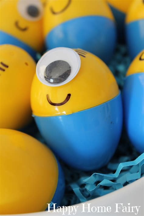 minion easter eggs happy home fairy