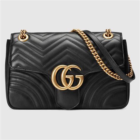 Gg Marmont Matelass Shoulder Bag gg marmont matelass 233 shoulder bag gucci s shoulder bags 443496drw3t1000