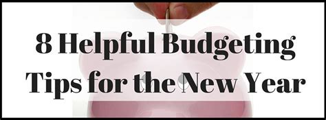 8 Tips On Letting And Finding New by 8 Helpful Budgeting Tips For The New Year Senior