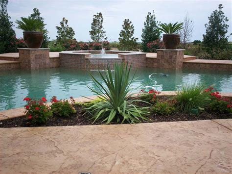 Pool Planters by Planters Seahorse Pools Spas