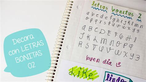 imagenes muy bonitas con letras escribe bonito con letras decorativas 2 bigcrafts youtube