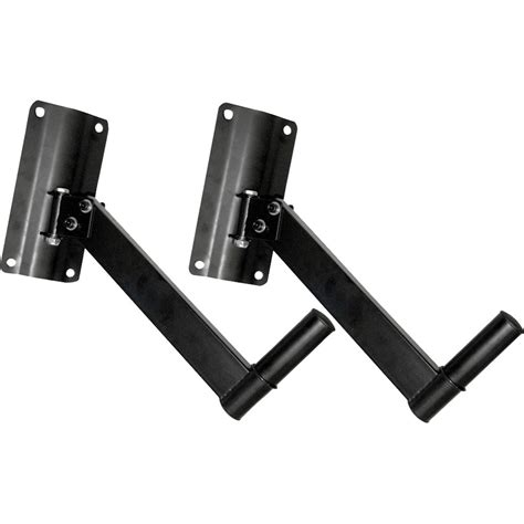 speaker wall mounts pyle pro pstnd6 wall mount speaker bracket pair pstnd6 b h