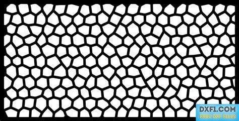 pattern png format voronoi pattern plasma cut panel free dxf files free
