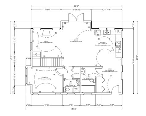 Kitchen Cabinet Door Dimensions by Make Your Own Blueprint How To Draw Floor Plans