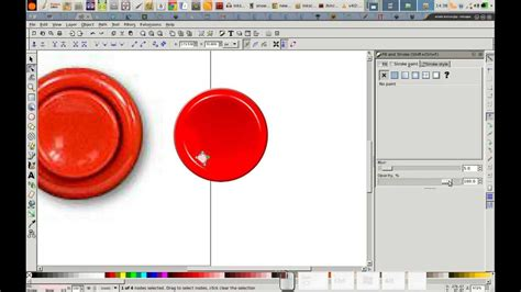 inkscape tutorial button how to draw a concave arcade button in inkscape youtube