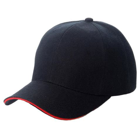 2016 new sport curved solid color adjustable baseball cap