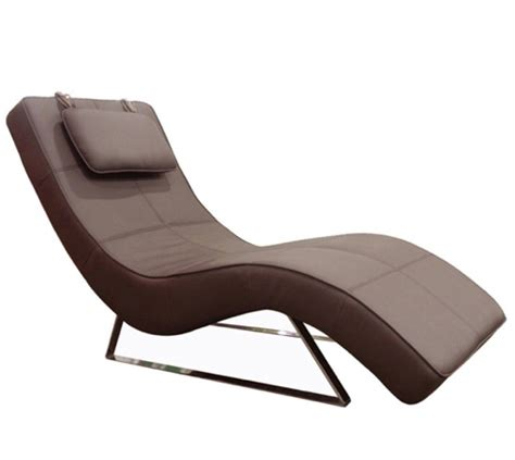 Modern Leather Chaise Lounge by Modern Chaise Lounge Chair Home Design