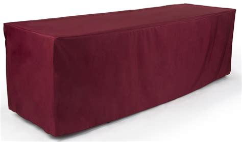 polyester table cloth 96 in burgundy