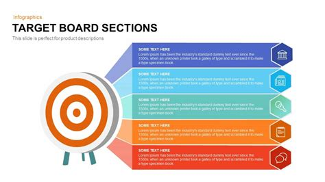 Target Board Sections Powerpoint And Keynote Template Slidebazaar Target Powerpoint Template