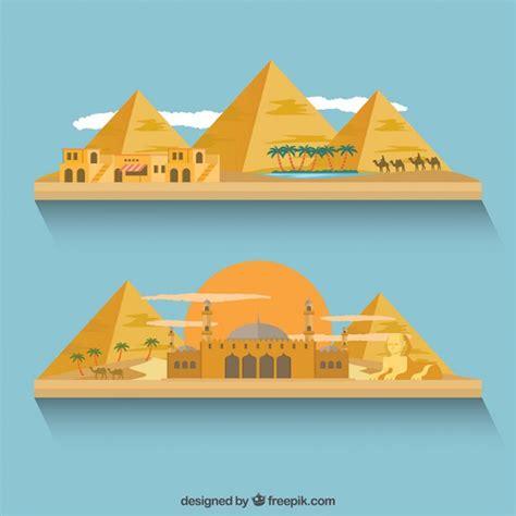 descargar imagenes egipcias gratis edificios y pir 225 mides de egipto descargar vectores gratis