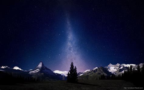 beautiful wallpaper for windows 10 beautiful night sky mountain wallpaper windows 10 wallpapers