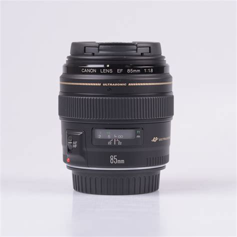 Lens Ef 85mm F 1 8 Usm canon ef 85mm f 1 8 usm lens new 3610170550433 ebay