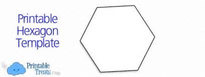 printable hexagon template printable treats com