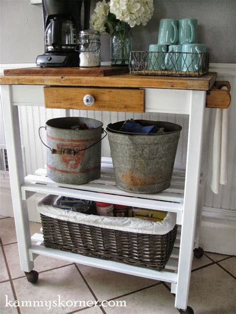 hometalk dirty paint shelf  cute coffee cart