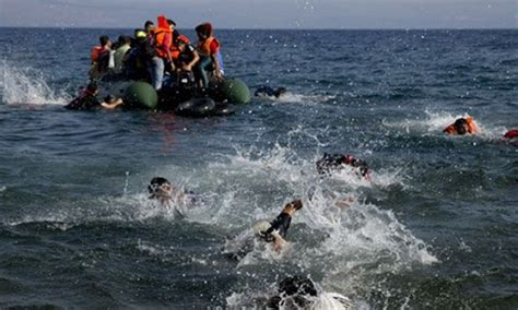 missing refugee boat 16 drown 30 missing as refugee boat sinks the daily