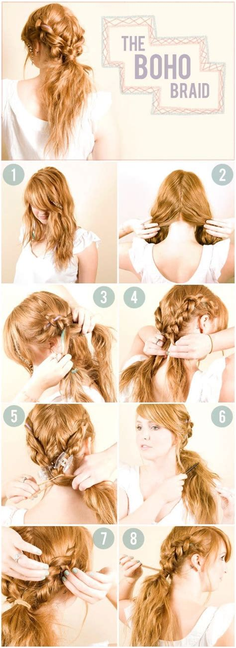 braids hairstyles how to do do it yourself 10 braided hairstyles for a new romantic look