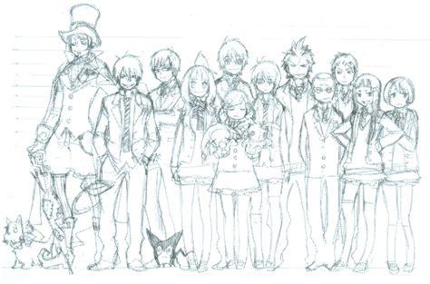 early manga sketches