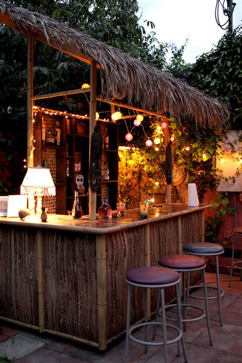 backyard tiki bar the tiki torture tiki pinterest tiki bars bar and