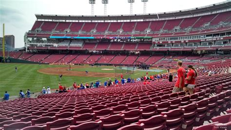 Great American Ballpark Section 135 by Great American Park Section 110 Cincinnati Reds