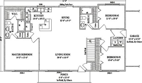 wardcraft homes floor plans concorde i by wardcraft homes ranch floorplan