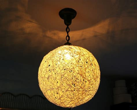 String Pendant L Diy by String Pendant Light Diy Crafts