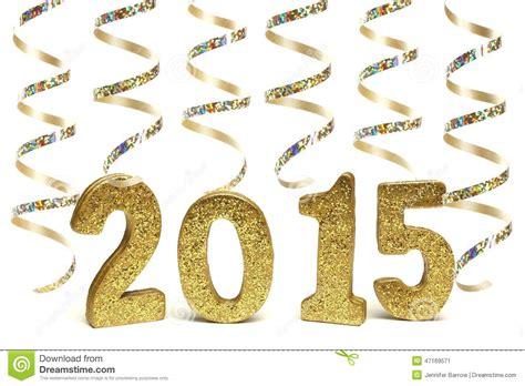 new years streamers new years 2015 stock photo image 47169571