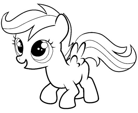 my little pony scootaloo coloring page my little pony apple bloom coloring pages www imgkid com