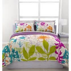 formula multi floral reversible bed in a bag walmart