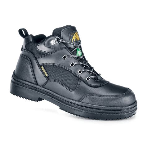 sfc shoes for crews voyager steel toe black non slip steel toe boots