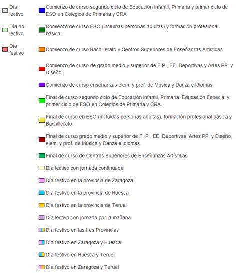 Calendario Escolar Aragon Curso 2015 16 Calendario Escolar 2017 Search Results Calendar 2015