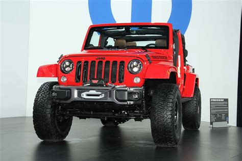 red jeep 2016 jeep announces very limited run of wrangler red rock edition