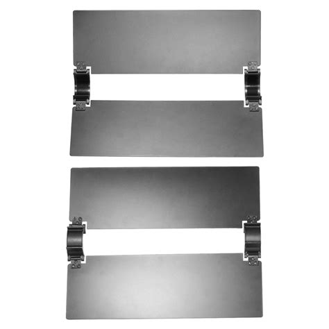 Lighting Barn Doors Neewer Led Hold Magic Wand Hold Led Light Panel Metal Barn Door Kit Ebay