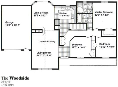 Woodside Homes Floor Plans by 1 Storey House Plans Joy Studio Design Gallery Best Design