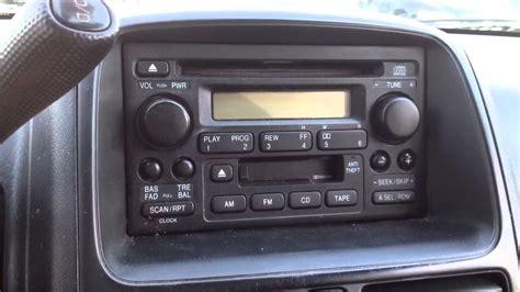 reset honda civic radio to reset radio for honda accord 2001 autos post