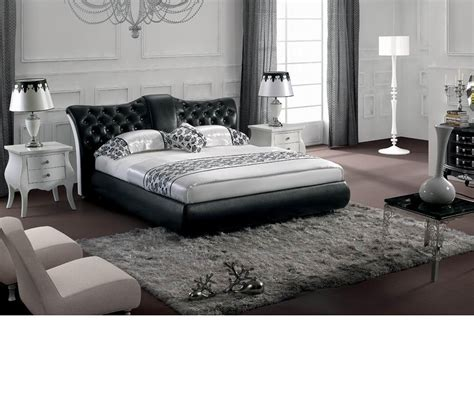 black tufted bed dreamfurniture com modern black tufted leatherette bed
