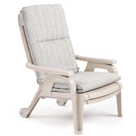 patio deck chairs bahia stacking deck chair sandstone 4 pack by grosfillex