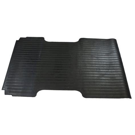 rubber bed mat dee zee bed mat black rubber 97 25 quot l 62 quot width chevy gmc