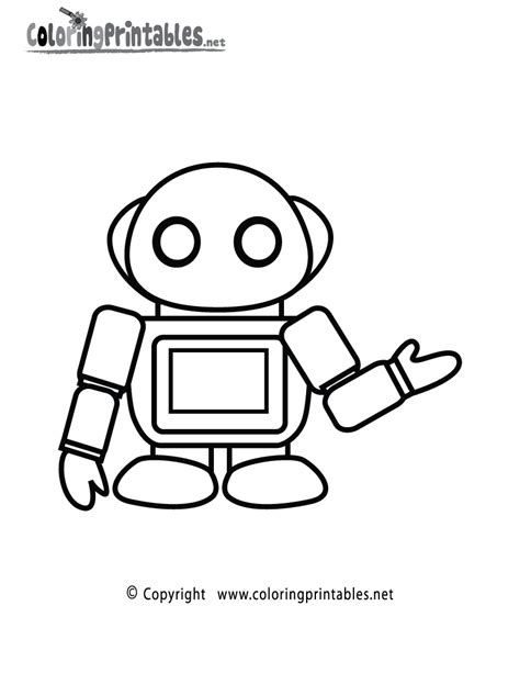 coloring pages for robot robot coloring page printable science worksheets and