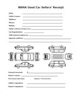 used car receipt template deposit receipt template 12 free sle exle