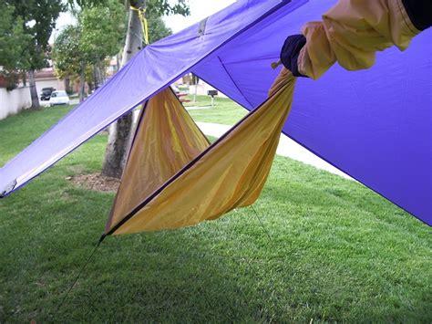 Self Hanging Hammock Diy Hammock And Sli Tarp
