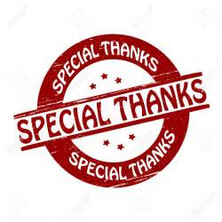 Image result for A special Thank you