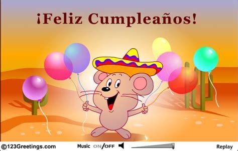 Birthday Cards En Espanol