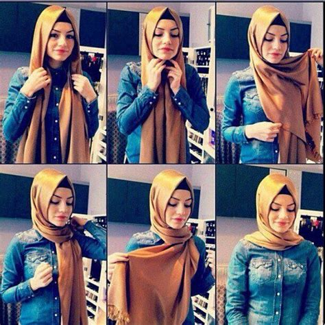 step by step pictorial tutorials of different style puff turkish hijab style step by step style arena