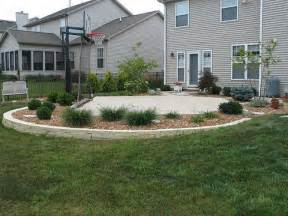 Basketball Half Court Dimensions Backyard by Dream Backyard Basketball Court I Found This On One Of