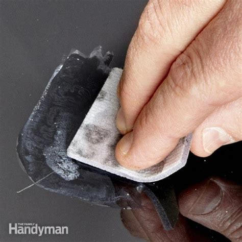color removing shoo how to remove paint scratches the family handyman