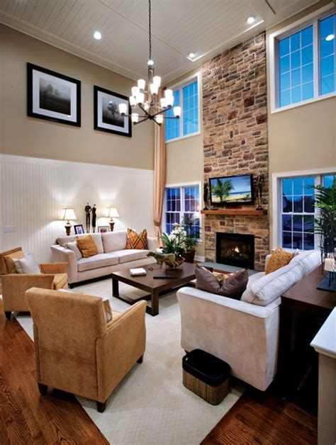 toll brothers living room toll brothers 2 story family room interior design ideas room living rooms and