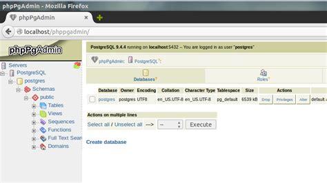 tutorial install ubuntu 15 04 how to install postgresql and phppgadmin on ubuntu 15 10