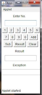calculator using applet technology comes with idea simple calculator using java